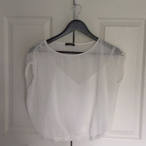 3 for $30 Dynamite Cropped Blouse